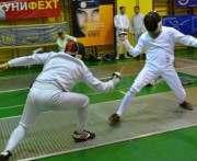 Харьковские фехтовальщики успешно выступили на всеукраинском турнире