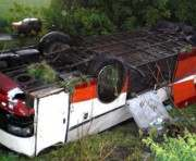 В России разбился автобус с украинцами: есть погибшие