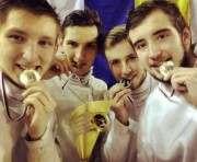 Юные фехтовальщики из Харьковской области завоевали золото этапа Кубка мира