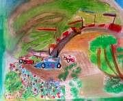 Харьковская галерея «Бузок» показала работы мальчика