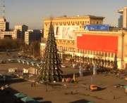 В Харькове площадь Свободы перекрыли до окончания праздников