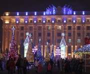 Харьков прихорашивается к Новому году