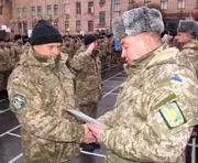 В харьковских вузах прошли выпуски младших лейтенантов