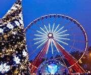 Как в парке Горького готовятся к Новому году