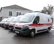 Харьков получил 15 новых «скорых»