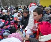 На Харьковщине ко Дню Святого Николая прошли праздники для детей
