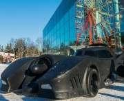В парке Горького появился бэтмобиль