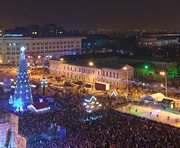 Погода в Харькове в новогоднюю ночь