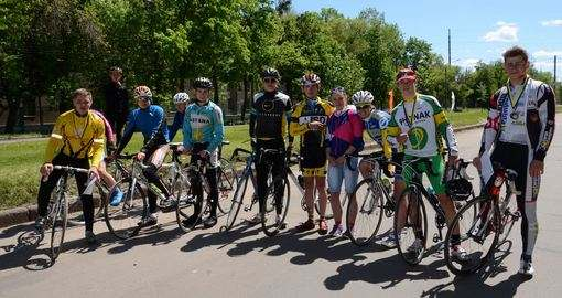 Как прошла велогонка на призы газеты «Вечерний Харьков»