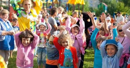День защиты детей в Харькове будет длиться четверо суток