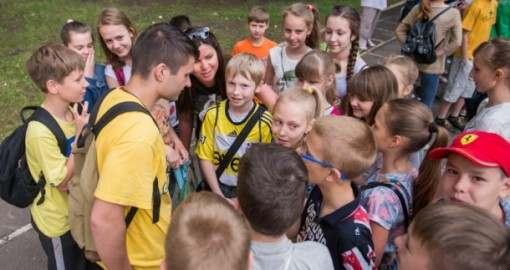 В Харькове начали работу пришкольные лагеря