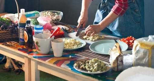 В Харькове открываются однодневные ресторанчики