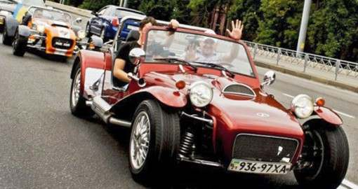 Проходимость харьковских дорог проверят старинные автомобили