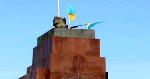 Куда исчез бронзовый Ильич в Харькове