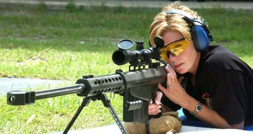 В контрактной армии будет служить харьковчанка-снайпер