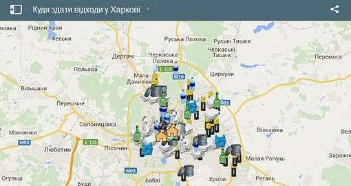 Куда выбрасывать старые градусники в Харькове?