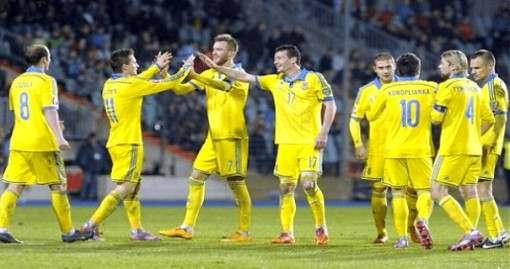 Украина – Словения: 2:0