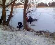 Под Харьковом мужчина провалился под лед и утонул