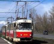 В Харькове по Салтовке не ходят трамваи