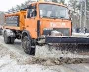 Ночью расчищать дороги в Харькове выведут дополнительную технику