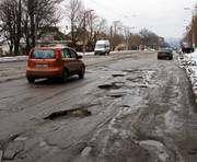 В Украине появится карта плохих дорог