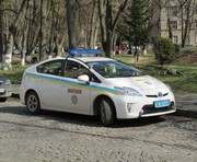 В Харькове на ХТЗ ВАЗ протаранил полицейский автомобиль