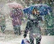Погода в Харькове: снег еще пойдет