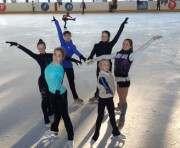 В Харькове появился новый вид спорта — синхронное фигурное катание