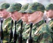 В понедельник из Харькова отправят первый отряд контрактников