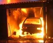 В Харькове сгорело авто адвоката Игната «Топаза» Кромского