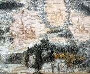 Береза намекает художнику на будущий рисунок