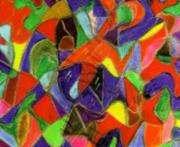 Психолог изображает энергии пространства
