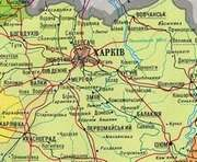 Американские специалисты помогут обновить карты Харьковской области