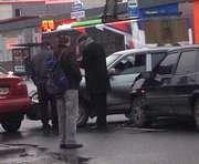Тройное ДТП в Харькове: виновата собака (фото, видео)