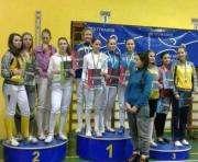 Шпажисты Харьковщины вышли в призеры чемпионата Украины