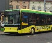 Во Львове начали испытывать первый украинский электробус