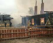 Крупный пожар в Харьковской области: что стало причиной