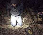 Под Харьковом диверсант пытался подорвать поезд: фото-факт