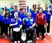 Харьковские паралимпийцы завоевали медали на теннисном турнире в Италии