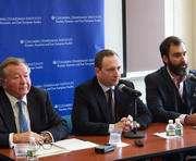 Харьковский губернатор выступил с лекцией в Колумбийском университете