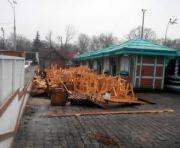 В Харькове снова перегорожена площадь Свободы