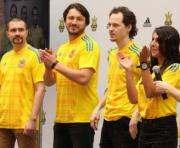 Джамала представила новую футбольную форму украинской сборной: фото-факты