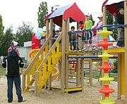 В Харькове установят сотни детских площадок