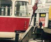 В центре Харькова переложат трамвайные пути