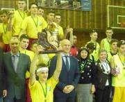 Определился победитель Харьковской школьной баскетбольной лиги