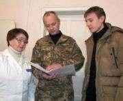 В Харьковской области юношей проверили на пригодность к службе