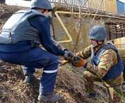 В реке под Харьковом нашли артснаряд