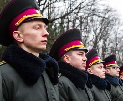 В академии Национальной гвардии прошел выпуск офицеров