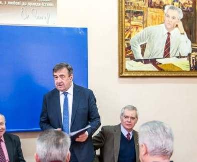 В университете Каразина открыли аудиторию имени Олеся Гончара