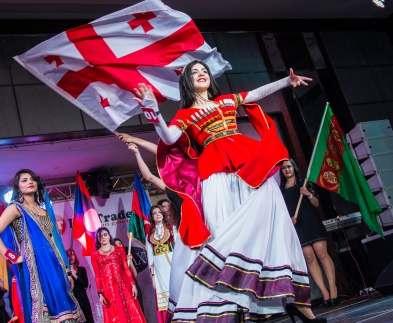 На конкурсе красоты в Харькове победила девушка из Грузии